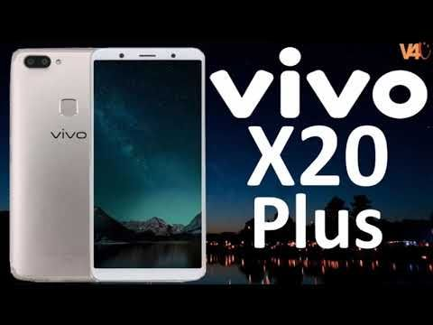 Vivo X20 Plus    World's 1st in-display finger print scanner   review