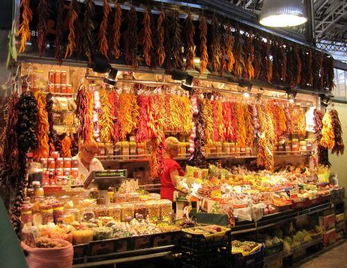 La Boqueria in Barcelona   4 days in Barcelona