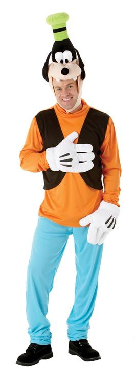 Goofy Disney Adult Fancy Dress Costume [AP089383] : Karnival Costumes