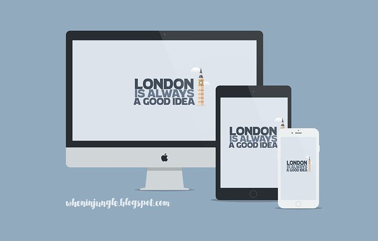 London is always a good idea. - wallpaper made for www.wheninjungle.blogspot.com More sizes on the blog!
