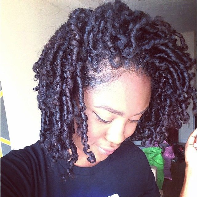 """The results of my finger coils! Check my last few posts to see how I achieved this. "" Photo taken by http://www.shorthaircutsforblackwomen.com/how-to-make-your-hair-grow-faster-longer/"
