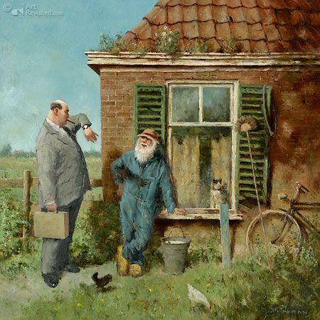 Marius van Dokkum - Rijke mensen - rich people