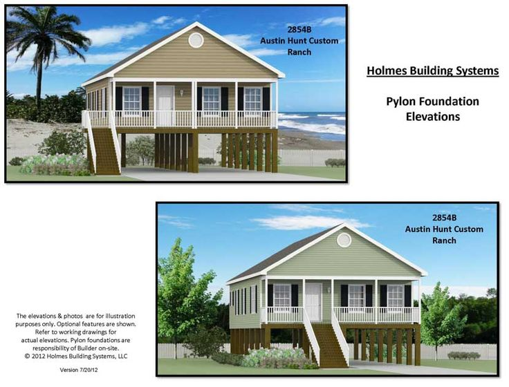 7 best beach mountain or vacation homes images on for Manufactured home on stilts