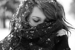 Great winter photo idea! We can do black and white with fake snow in preparation for winder shoots