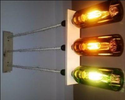 Winna lampa nad stół