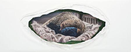 Viktor Rosdahl - Nattkvarter - Selma, 90x120cm