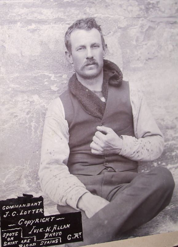 On October 1901, this beautiful young brave heart; Commandant Johannes Lotter was executed at Middelburg during the Anglo Boer War.