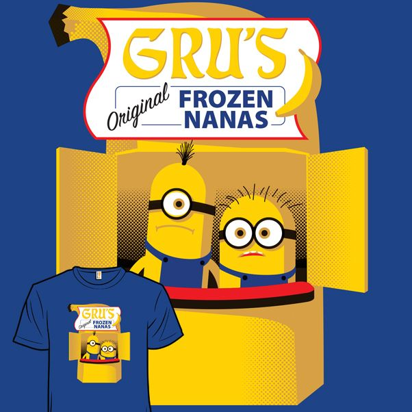 Gru's Frozen Nanas