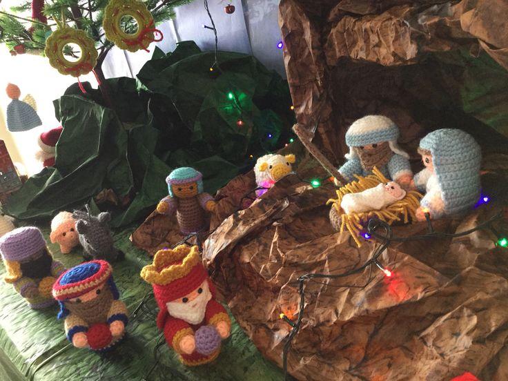 Amigurumi Navidad Nacimiento : Mejores imágenes de nacimientos en muñeca niño