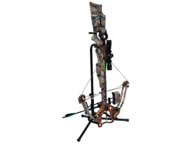 Ameristep Ground Blind Crossbow Holder Steel Black - MPN: 1820