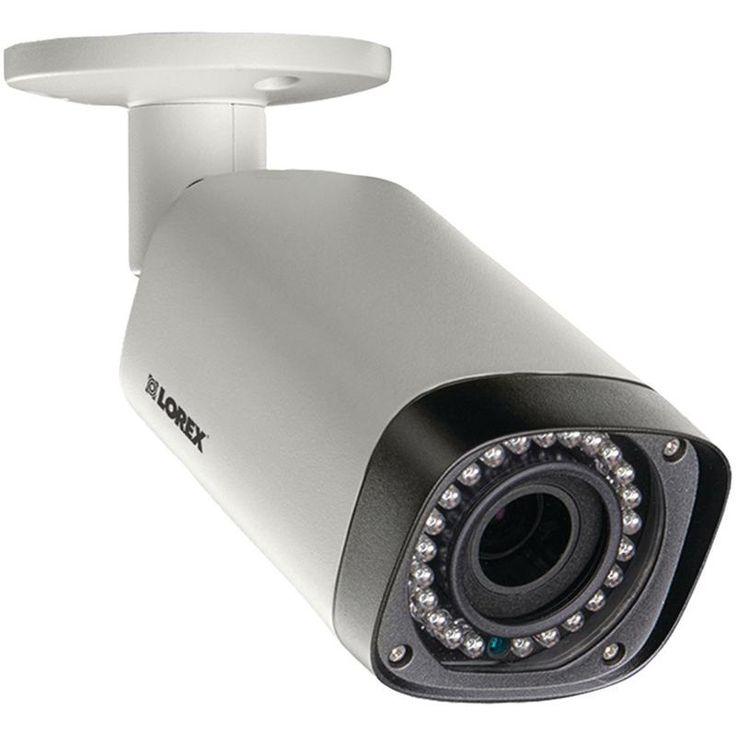 Lorex By Flir 3.0-megapixel Hd Varifocal Ip Bullet Camera