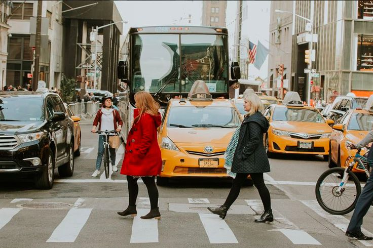 There's something special about going to New York City with your best friend!