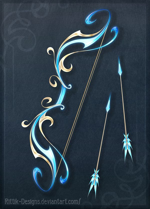 Sacred Bow - Auction! by Rittik-Designs on DeviantArt