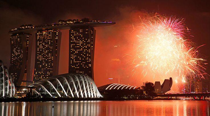 Fabulous fireworks across the world greet 2017 — RT In vision