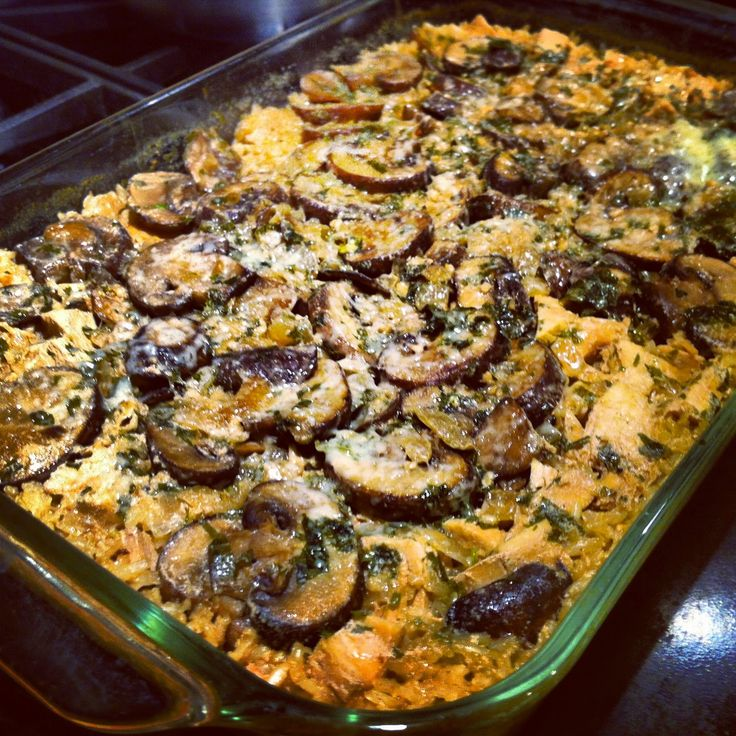 the best recipes of all time: Lightened Up Chicken Marsala Casserole
