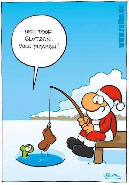 Heut ist Nikolaus-Tag. Da ist das so!