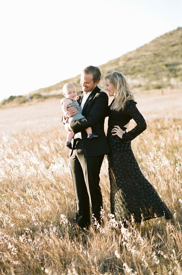 a fun dressy look for family portraits