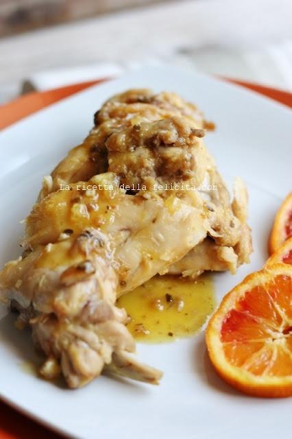 La ricetta della felicità: Coniglio all'arancia in agrodolce e i buoni propositi di un maggio light...