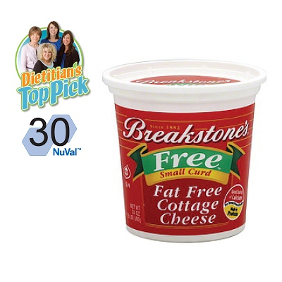 @MarketStreet's Dietitian's Top Pick: Our dietitians love Breakstone's Cottage Cheese as a low calorie, protein packed snack.