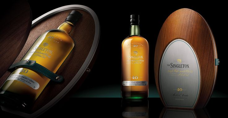 The Singleton Whisky, 40 years old on Behance