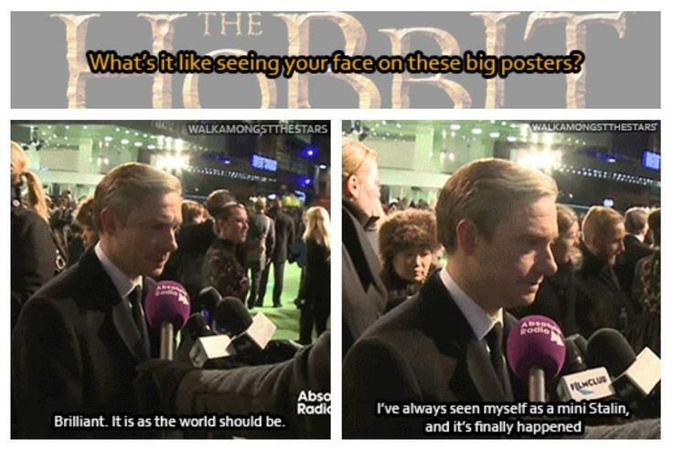 This is why I love Martin Freeman