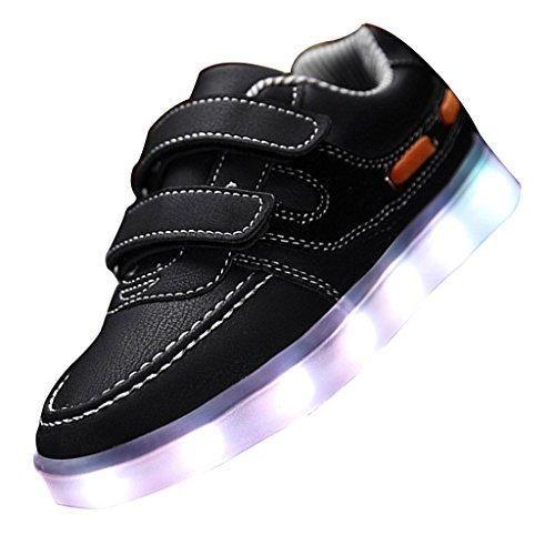 Oferta: 24.68€. Comprar Ofertas de SAGUARO® Niños Muchacha Muchacho USB de Carga de 7 Colores LED zapatillas de Deporte del Zapato la Fiesta de Baile barato. ¡Mira las ofertas!