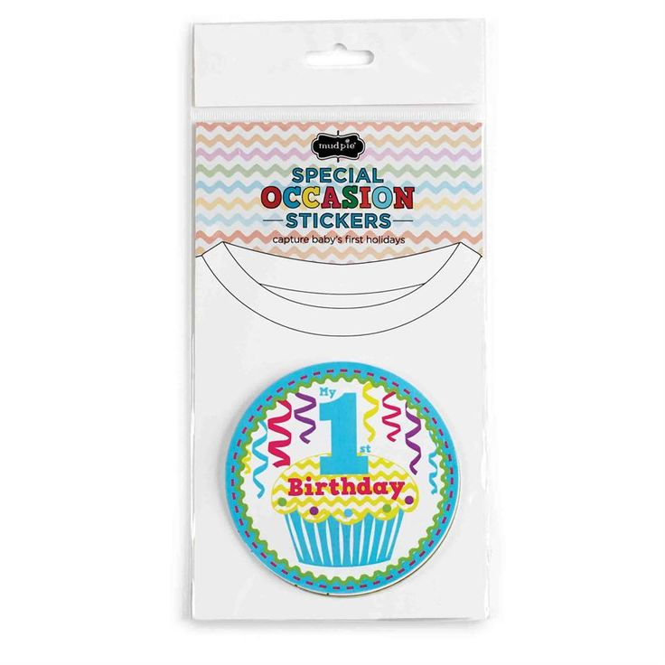 SPECIAL OCCASION STICKERS BY MUD PIE