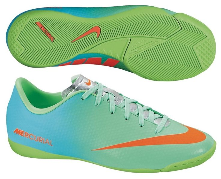 Nike FC247 Elastico II Youth Indoor Soccer Shoes (Crimson/Pink Flash) ...