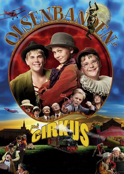 Olsenbanden jr. Pa Cirkus - When Sigvald Pettersen conjures up a plan to take over a traveling circus, it's up to Egon and the rest of the Olsen gang to come to the rescue.
