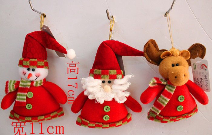 (Buy Two Get Third Free)Santa Claus/Reindeer/Snowmen Toys Christmas Ornaments #Unbranded