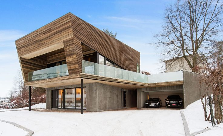 Vårdal Arkitekter's angular concrete and larch house blends seamlessly into a Tønsberg neighbourhood   Architecture   Wallpaper* Magazine