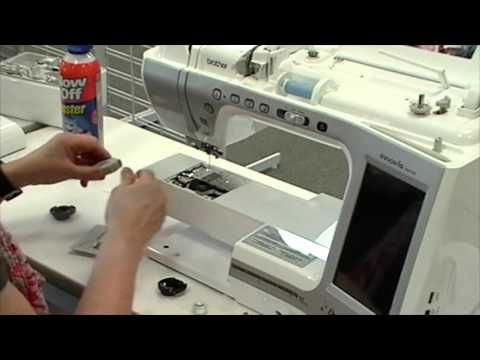 Brother Sewing Machine Cleaning - YouTube