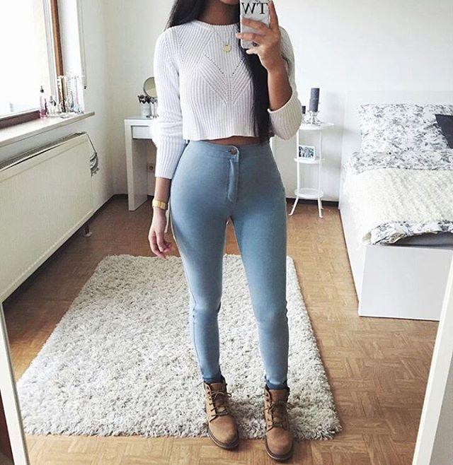 Via Luxury Life Girls Denim Jeans Fashion For