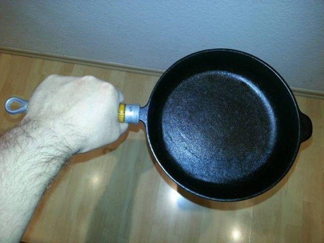Что делать, если чугунная сковорода ржавеет 0