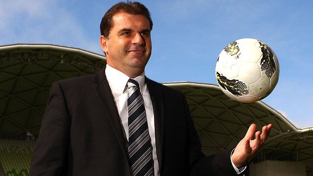 Football Federation Australia unveils Ange Postecoglou as new Socceroos coach