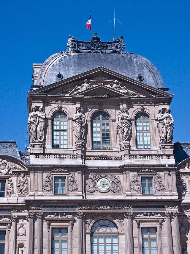 17 best images about le louvre paris on pinterest - Appartement de standing horloge tower ...