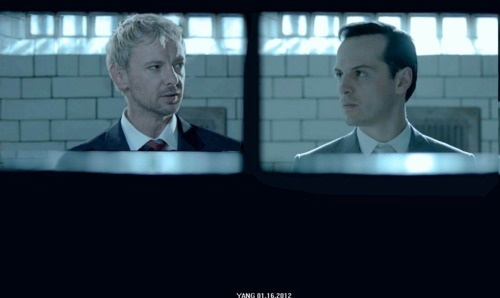 The Master and Moriarty.
