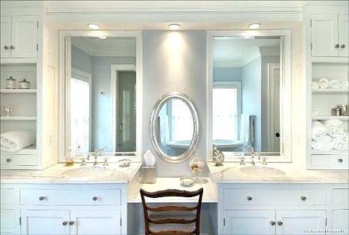 Bathroom Vanity Makeup Dreaded Vanity Area In Bathroom Bathroom