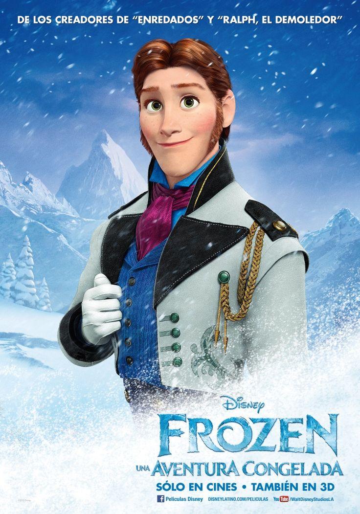 Frozen: Una Aventura Congelada | Poster: Frozen 2013, Character Posters, Frozen Hans, Disney Princess, Disney Movie Posters, Things Disney, Hans Frozen, Prince Hans, Disney Frozen