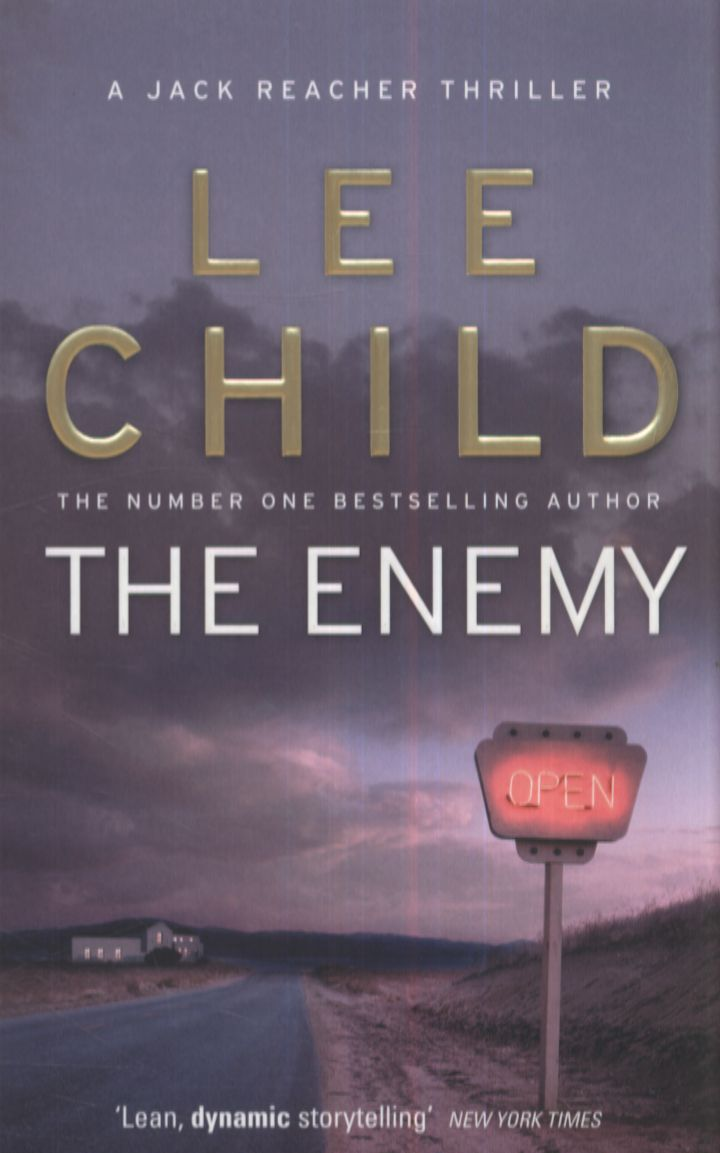 The Enemy By Lee Child In The Jack Reacher Series Again Thank You To My  Other Half For Keeping My Jack Reacher Set Up To Date Love A Good Surprise