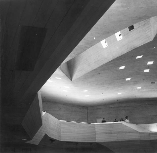 Edificio del Sindicato de Estudiantes Dipoli, Espoo (Finlandia) 1961