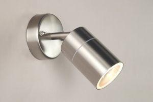 spot 30193: modern, staal , rvs, rond