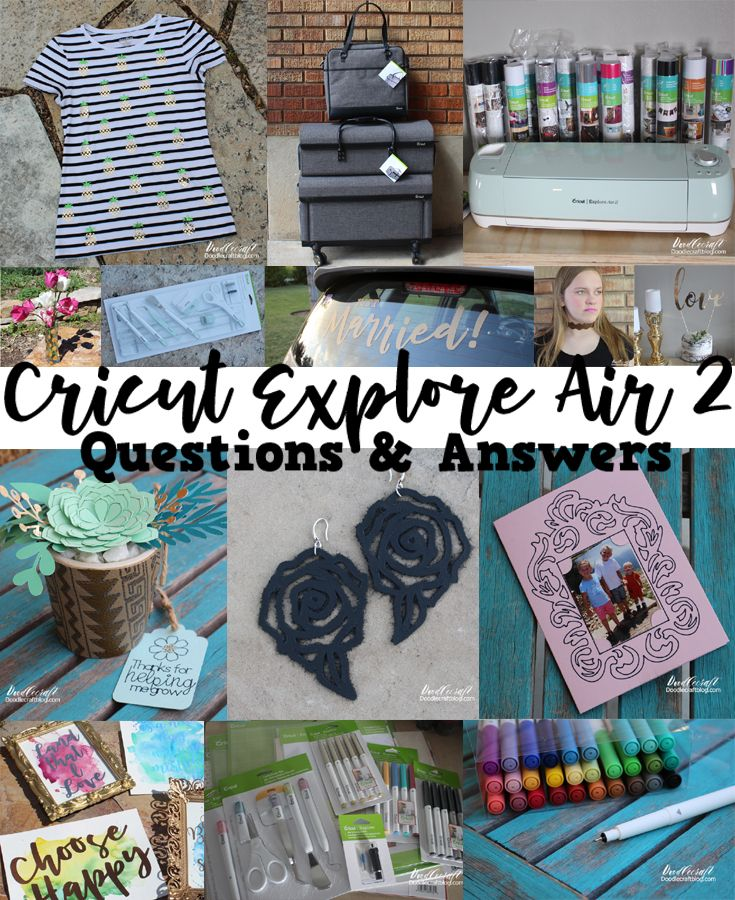 If you have been following for a while, you'll know I love my Cricut Explore Air 2. There are so many wonderful things you can do with it. I'm answering the most common 12 questions about my Cricut machine and running a huge giveaway so you can win your own!