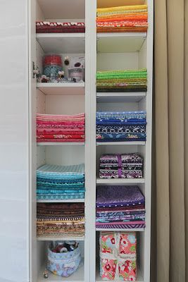 Good Not Only Quilts: My Sewing Room U0026 IKEA Hack   Benno DVD Tower As Fabric  Storage.