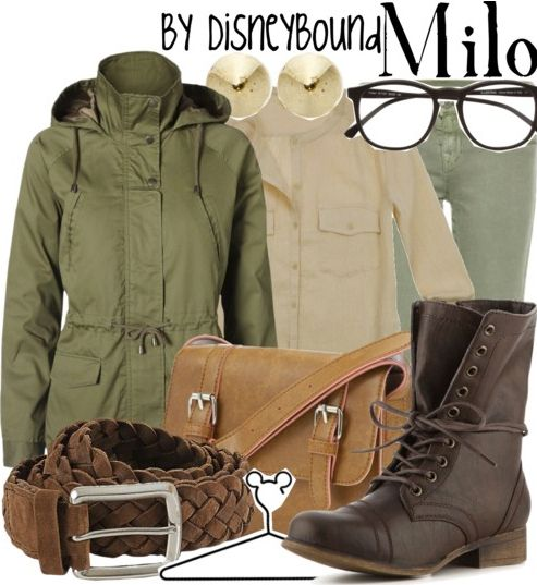 Milo Thatch from Atlantis inspired outfit by DisneyBound