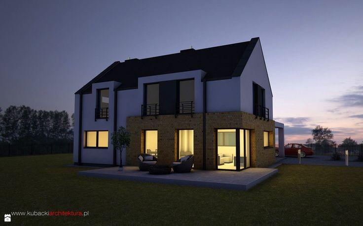 Zdjęcie: Dom jednorodzinny - Domy - Styl Nowoczesny - CUBE Studio Architektury