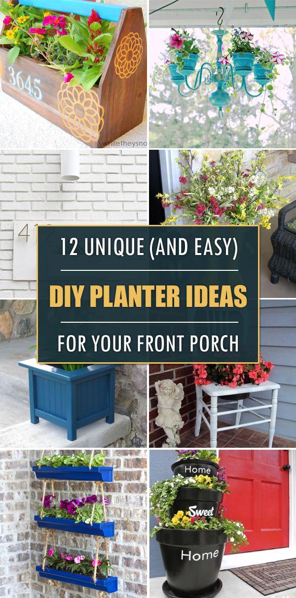 25+ best diy planters ideas on pinterest   plant decor, modern and ... - Patio Flower Boxes Ideas