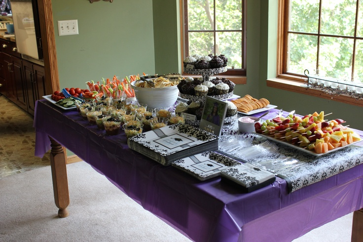 jaydes graduation reception food table graduate pinterest reception food graduation ideas and grad parties