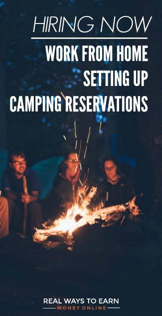 Hiring now in various US states, work at home for the Active Network taking camping reservations.