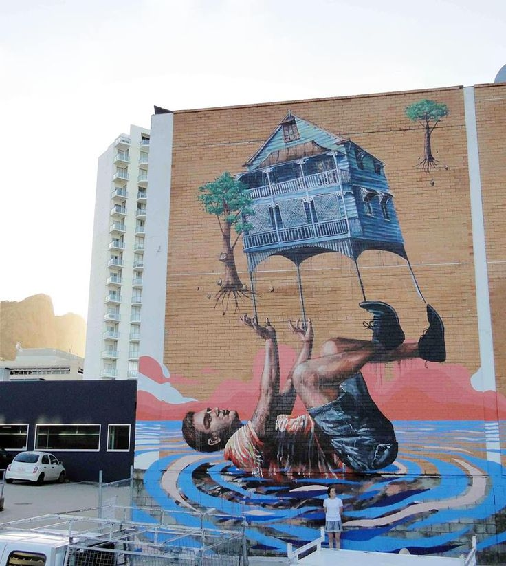 """Fintan Magee... The Tower, """"City Lane, Townsville"""""""